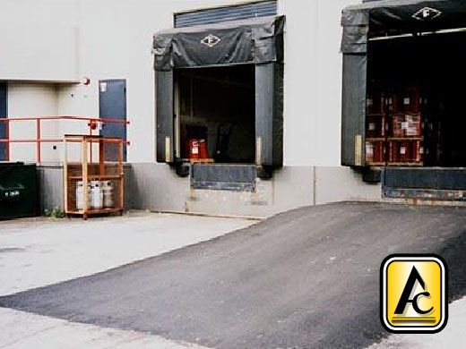how to fix loading dock ramp